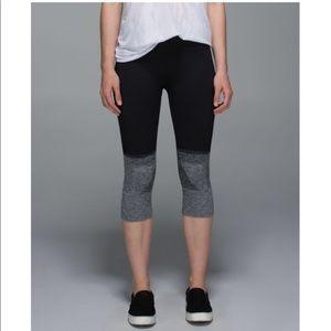 lululemon athletica Pants - Lululemon Athletica Seamlessly Street Crop